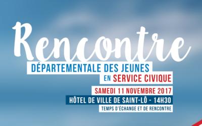 Rencontre départementale des jeunes en service civique à Saint-Lô