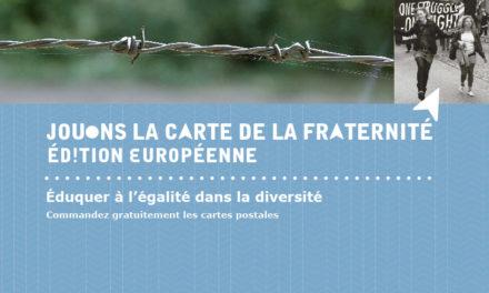 Opération « Jouons la carte de la Fraternité » 2018-2019