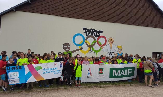 Journée olympique en sport partagé
