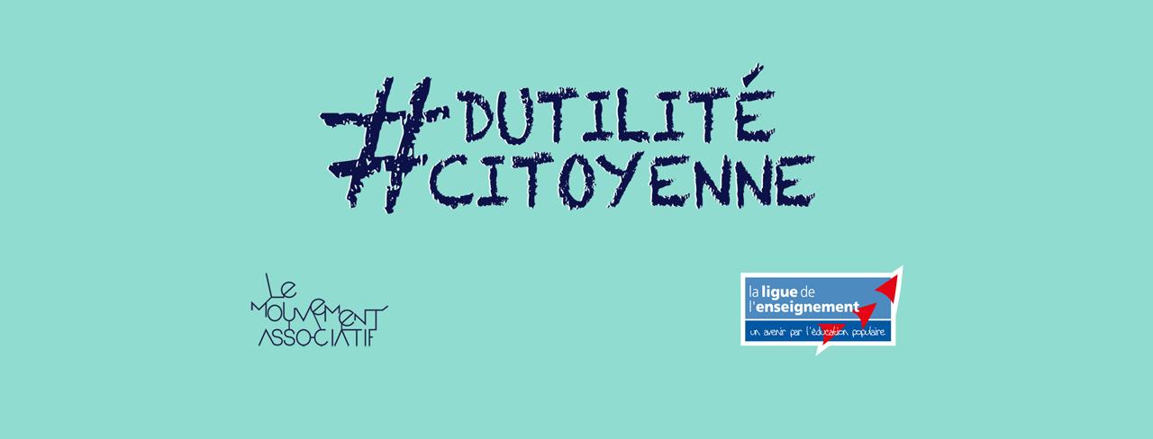 Contrats aidés : relayez la campagne #DUTILITECITOYENNE