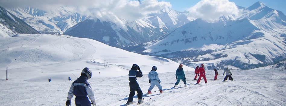 Ski Alpin, raquettes