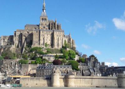 Le Mont-Saint-Michel et la Baie