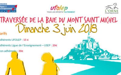 Traversée de la baie du Mont Saint Michel