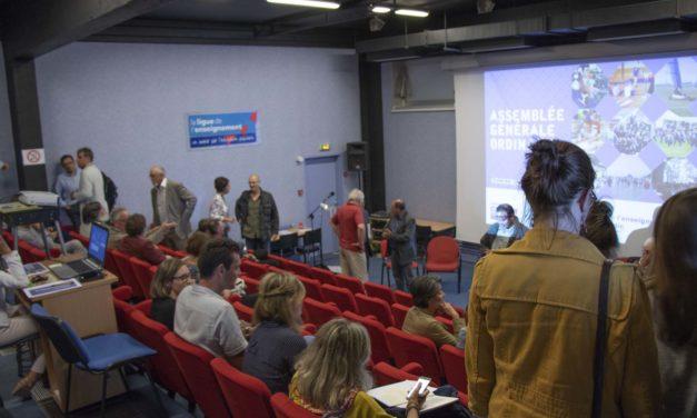 Assemblée Générale ordinaire de la Ligue de l'enseignement de Normandie 12/06/2018
