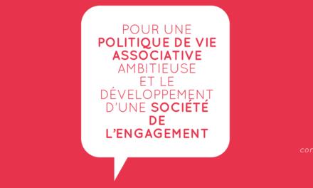 Remise du rapport « Pour une politique de vie associative ambitieuse »
