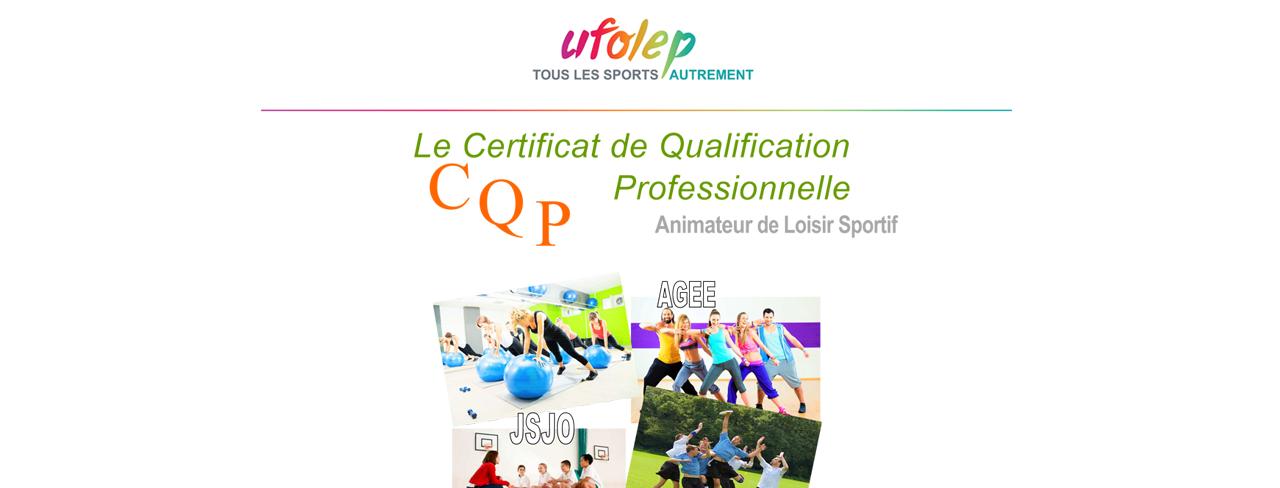 Certificat de Qualification Professionnelle Animateur de Loisir Sportif – novembre 2018