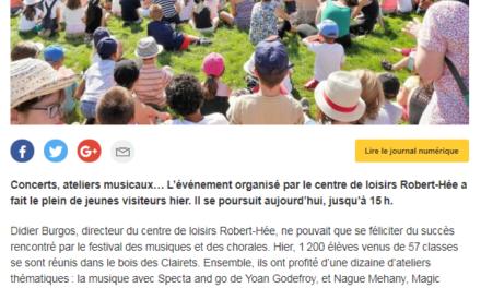 1ère édition du Festival des musiques et des chorales