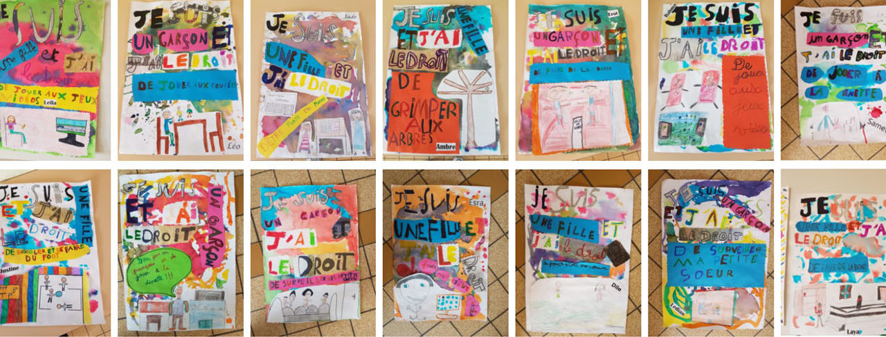 L'égalité filles garçons et les droits des enfants vus par les élèves d'Hérouville Saint-Clair