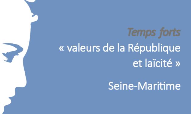Rencontre départementale de la Seine-Maritime « Laïcité pour faire société : être et agir ensemble » 2018