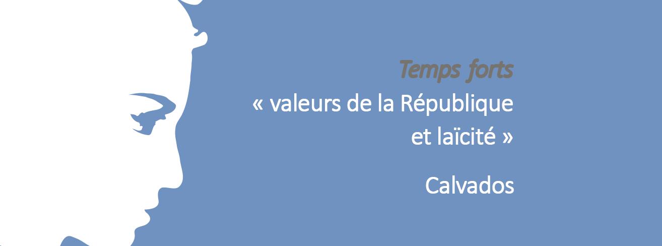 Rencontre départementale du Calvados « Laïcité pour faire société : être et agir ensemble » 2018