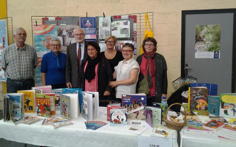 Stand Lire & Faire Lire au forum des associations arqyuaises