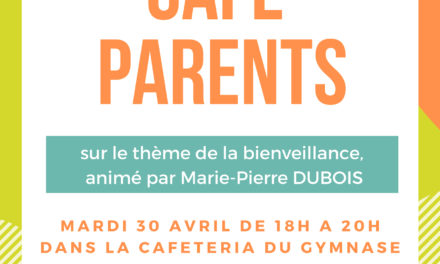 1ère édition du « café parents » à Louvigny