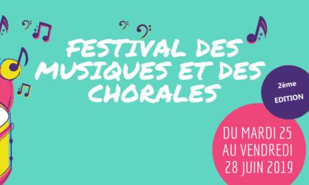 Festival des musiques et des chorales 2019
