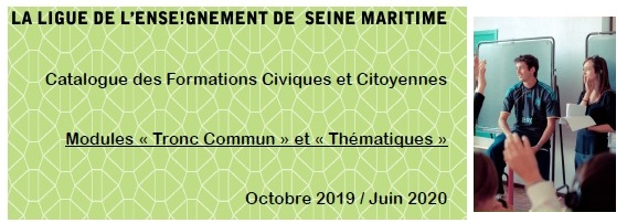 Formation civique et citoyenne – Tronc commun