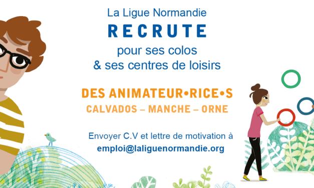 ANIMATEUR·RICE DE CENTRE DE LOISIRS – CEE – Calvados (14) – Manche (50) – Orne (61)