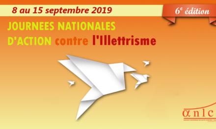 Journées Nationales d'Action contre l'Illettrisme 2019