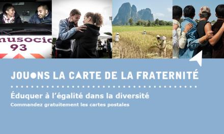 Opération « Jouons la carte de la fraternité » 2019-2020