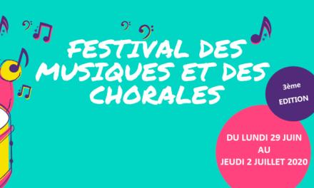 Festival des musiques et des chorales 2020