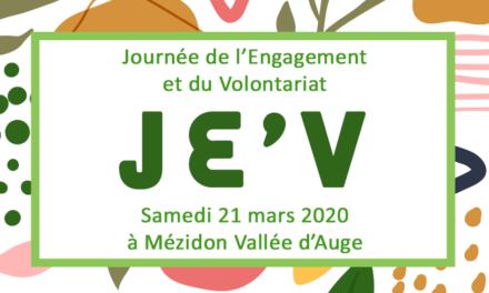 Journée de l'Engagement et du Volontariat – JE'V #2