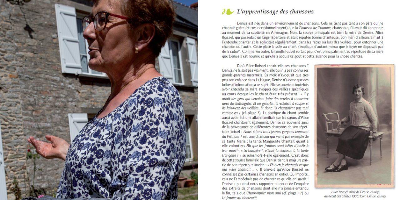 Chanteuse du Cotentin : un livre et un CD produits par l'association La Loure