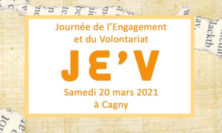 Journée de l'Engagement et du Volontariat – JE'V #2021
