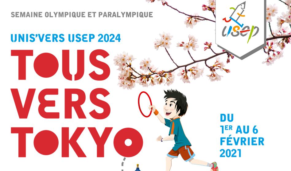 Semaine Olympique et Paralympique : Tous vers Tokyo !