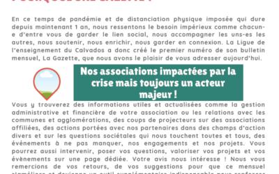 La Gazette de la fédération du Calvados N°1 • AVRIL 2021