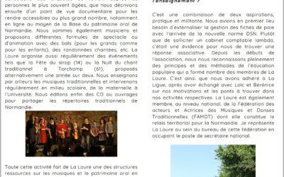 Interview de La Loure