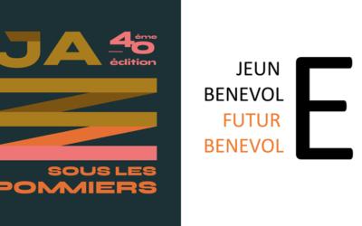 Jeune bénévole, futur·e bénévole en partenariat avec le festival Jazz sous les pommiers