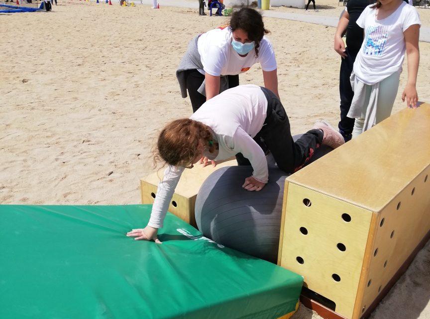 Journée de découverte de sport adapté à la plage