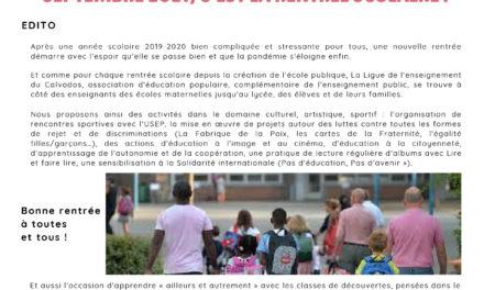 La Gazette de la fédération du Calvados N°4 • SEPTEMBRE 2021