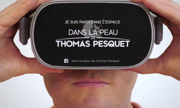 Projet autour de Thomas Pesquet et de la réalité virtuelle